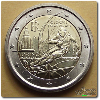Monete Ditalia 2 Euro Giochi Invernali Torino 2006 Quotazione