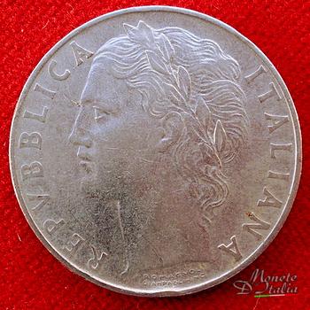 e247ba25a4 Monete D'Italia: 100 Lire Minerva 1° tipo 1955
