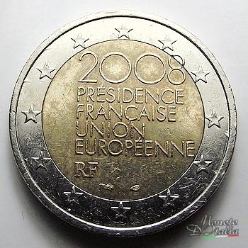 Monete Ditalia 2 Euro Presidence Francaise 2008
