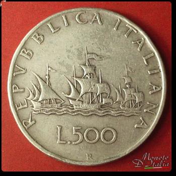 5a268a7b93 Monete D'Italia: 500 Lire 3 caravelle 1966 (Quotazione, Descrizione ...
