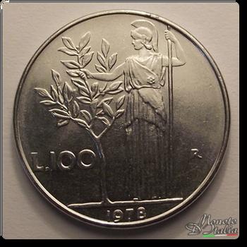 036dd533ef Monete D'Italia: 100 Lire Minerva 1° tipo 1978
